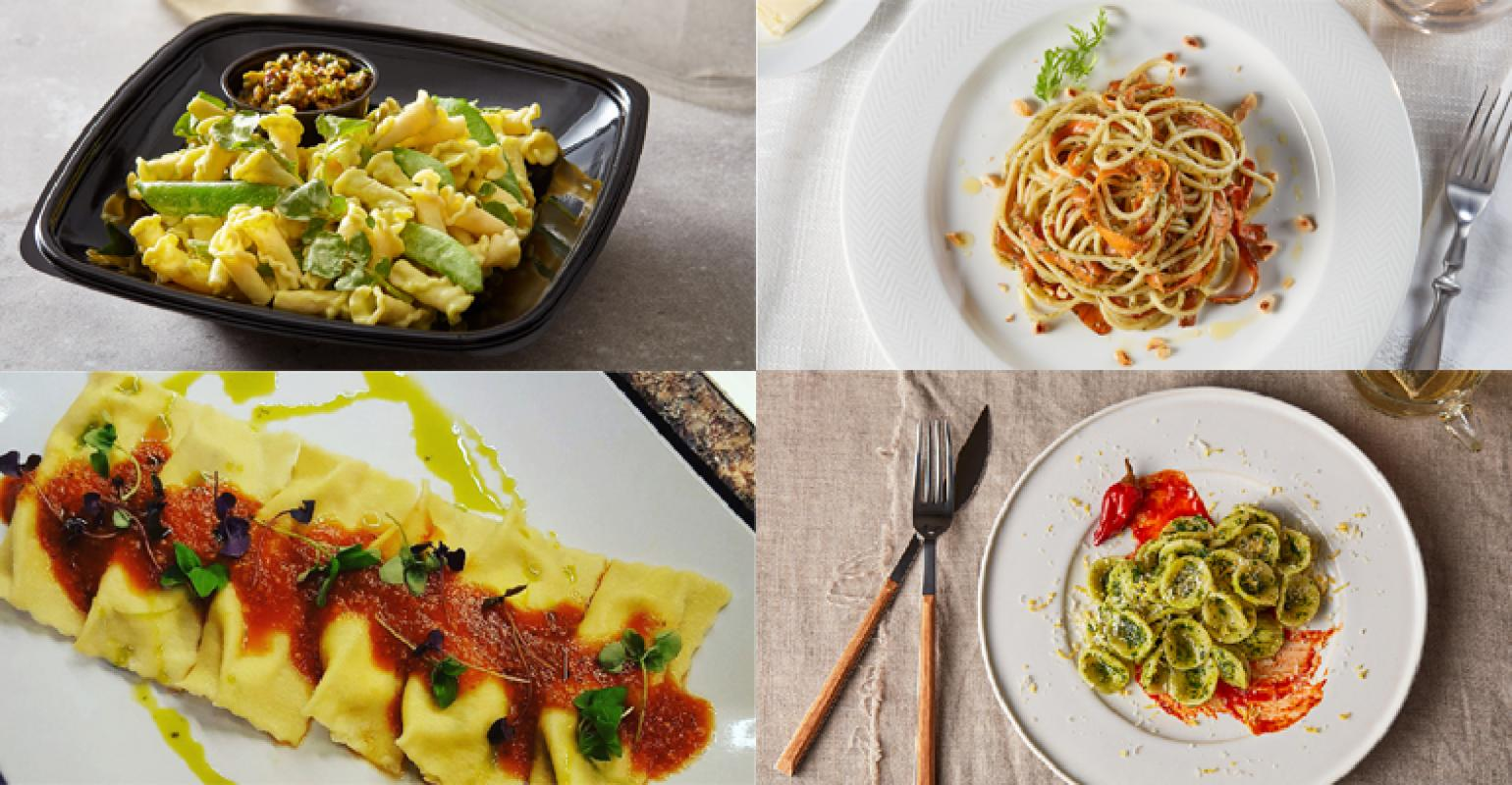 FOOD MANAGEMENT: 25 amazing pasta dishes from food service chefs who are envisioning the shape of pasta to come